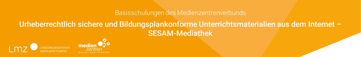 Urheberrechtlich sichere und Bildungsplankonforme Unterrichtsmaterialien aus dem Internet - SESAM Mediathek
